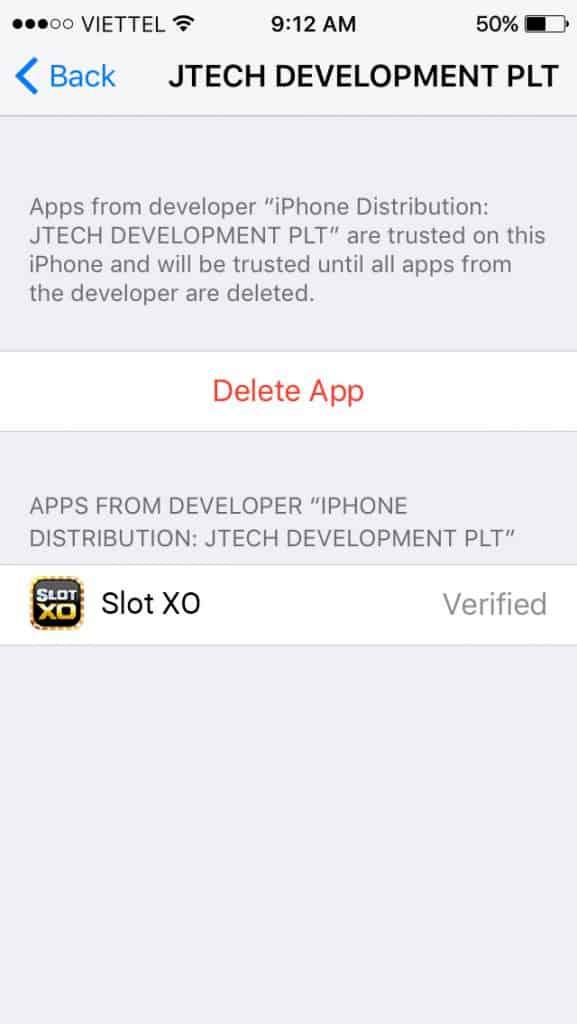 ติตดั้ง slotxo ระบบ ios 1