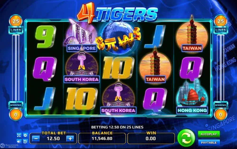 4 tigers slotxo